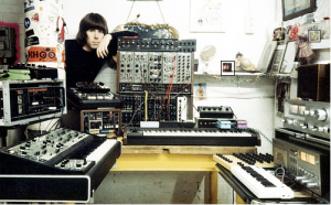 Chris Carter with the Roland System100m
