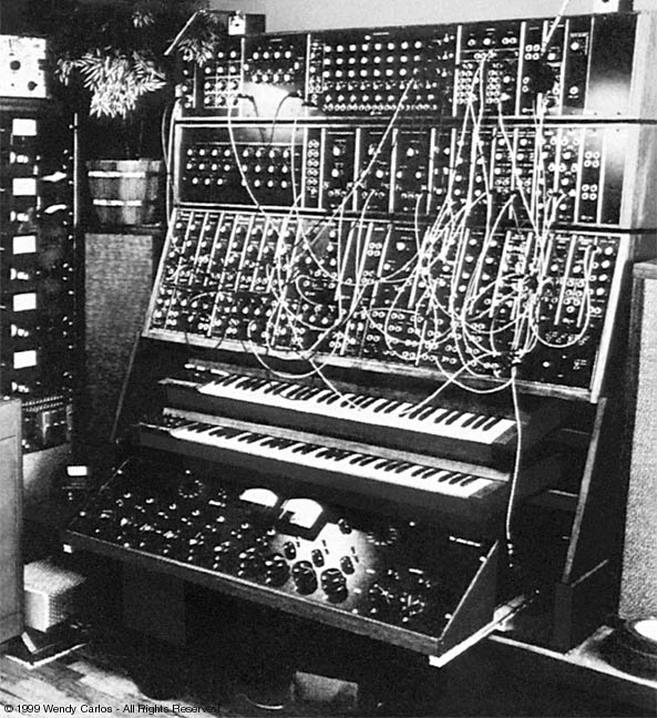 1968 - 'Switched on Bach' released using this