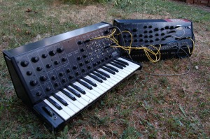 Korg MS-20 and MS-50