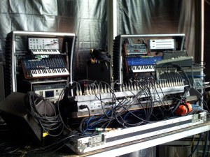 Chemical Brothers Liveset rig